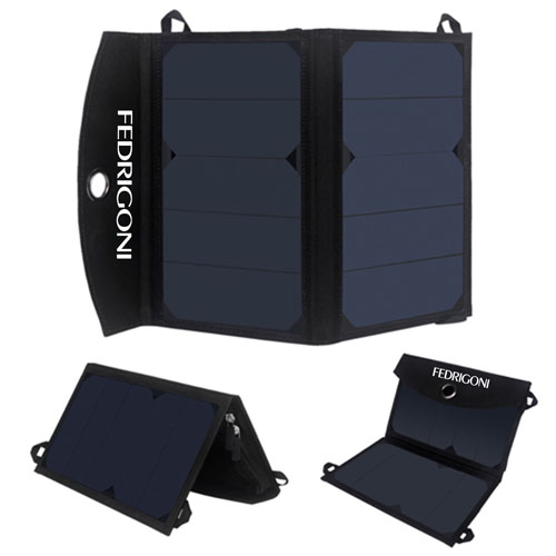 12W Dual USB Foldable Solar Charger Image 2