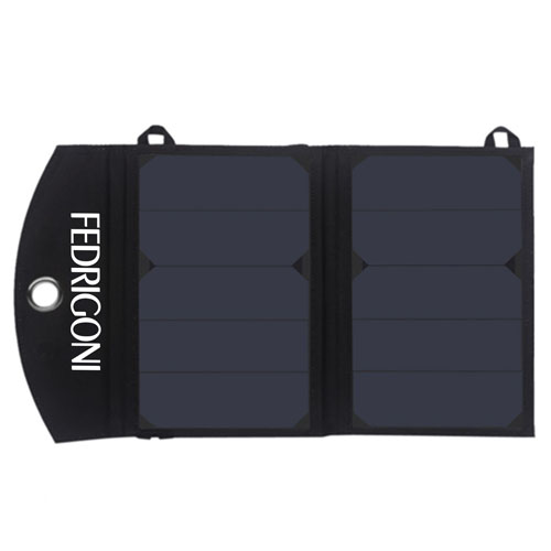 12W Dual USB Foldable Solar Charger Image 5