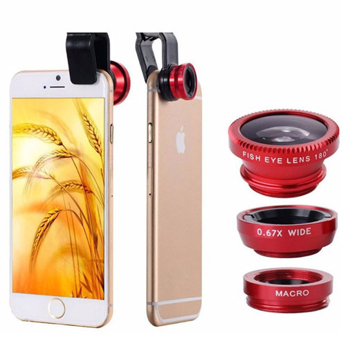 3 In 1 Universal Mobile Clip On Lens