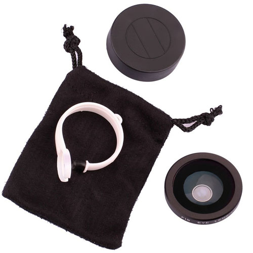 Universal 180 Degree Detachable Fisheye Lens