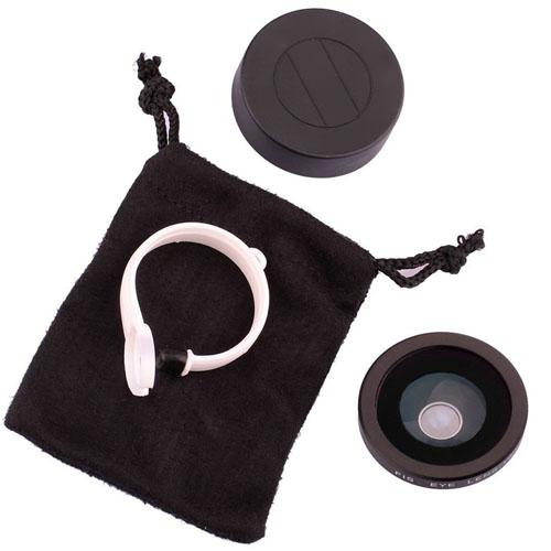 Universal 180 Degree Detachable Fisheye Lens