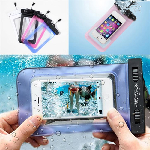 Universal Underwater Waterproof Mobile Pouch Image 4