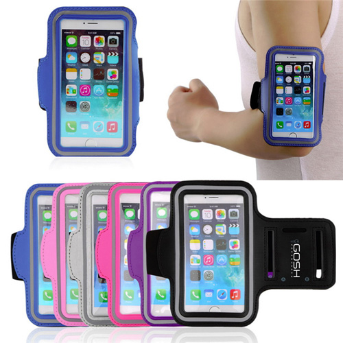 Sports Leather Phone Case Armband