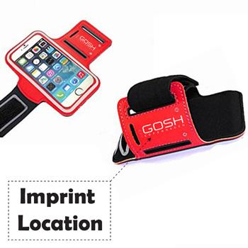 Sports Leather Phone Case Armband