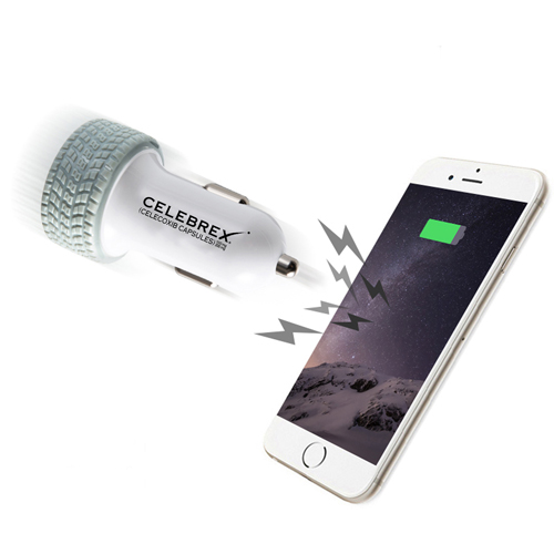 Tire Dual USB Car Charger Image 3
