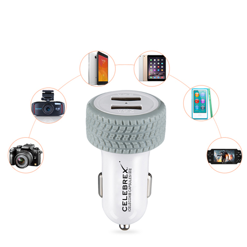 Tire Dual USB Car Charger Image 5