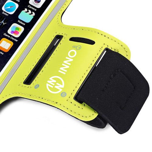 Sweatproof PU Leather Phone Armband