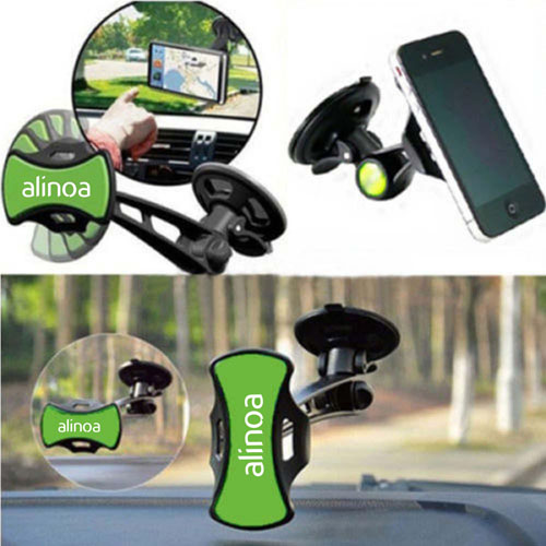 Universal Car Mobile Phone Mount Navigation Holder Image 1