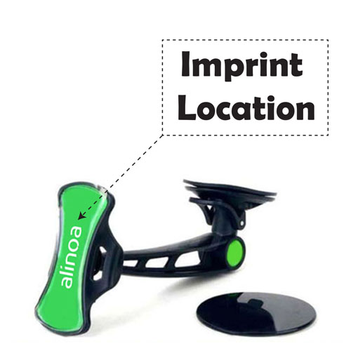 Universal Car Mobile Phone Mount Navigation Holder Imprint Image