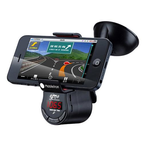 Multifunction Phone Holder With FM Speaker