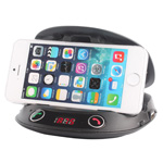 Multifunction Shell Car Phone Holder With FM
