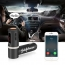 Bluetooth FM Radio Transmitter With Dual USB Charging