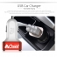 Aluminum 3 Ports USB Car Charger