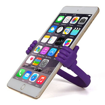 Flexible Portable Thumb OK Phone Stand