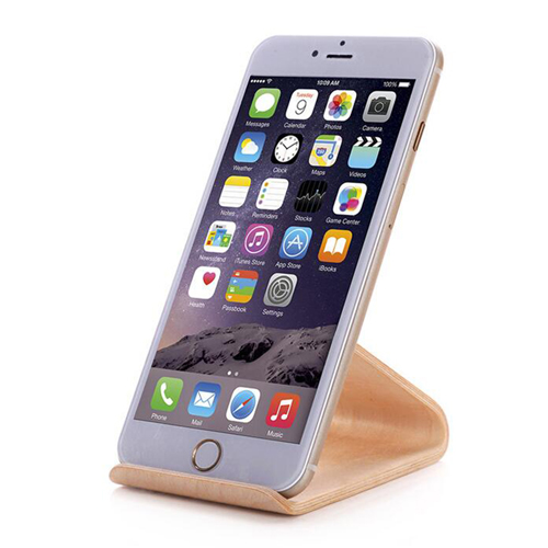 Walnut Wooden Mobile Phone Stand