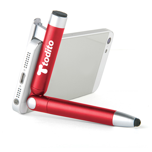 Stylus Pen Holder With Screen Cleaner Image 1