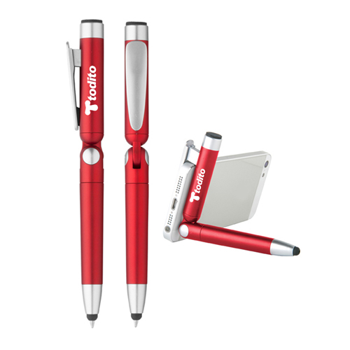 Stylus Pen Holder With Screen Cleaner