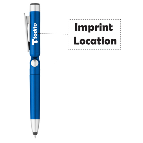 Stylus Pen Holder With Screen Cleaner Imprint Image