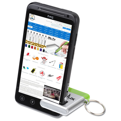 Phone Stand Screen Cleaner With Key Ring