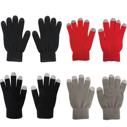 Five Finger Touch Screen Gloves Image 1
