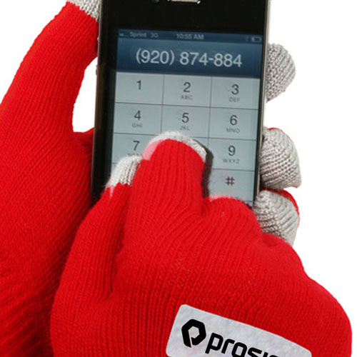 Five Finger Touch Screen Gloves Image 3