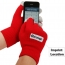 Five Finger Touch Screen Gloves Imprint Image