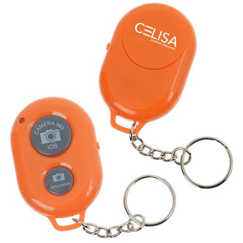 Bluetooth Selfie Remote Keychain