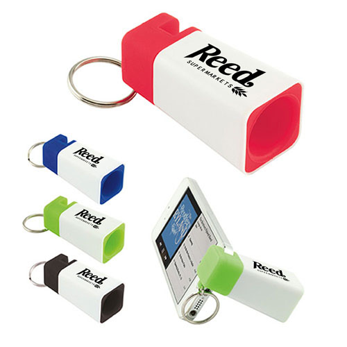 Phone Stand Amplifier Keychain