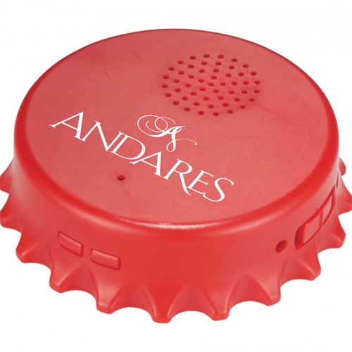Bottle Cap Shaped Speaker Opener