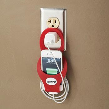 Hanging Silicone Smartphone Holder