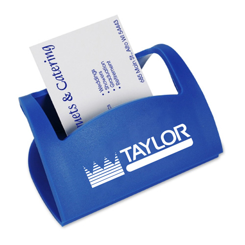 Flexible Cell Phone Business Card Holder Image 1