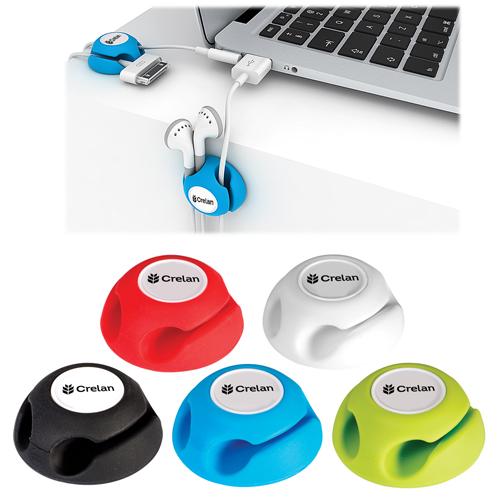 Flexible Silicone Cable Organizer
