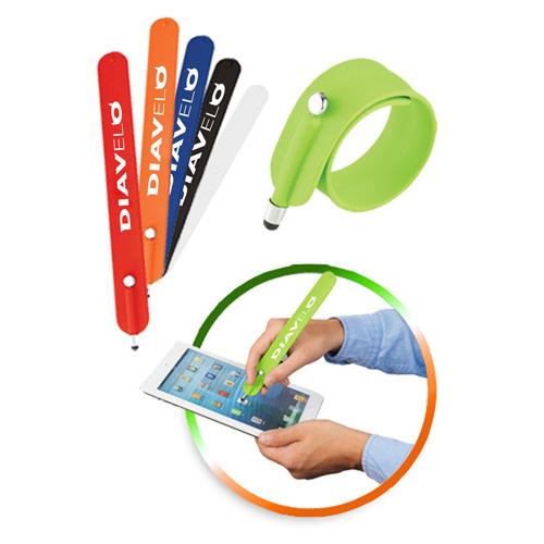 Slap Bracelet With Stylus