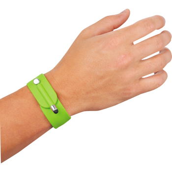 Slap Bracelet With Stylus