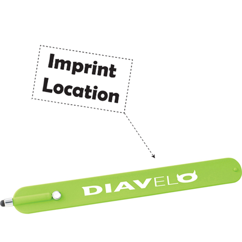 Slap Bracelet With Stylus Imprint Image