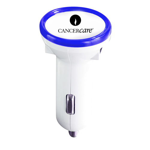 Circle Dual USB Car Charger Image 2