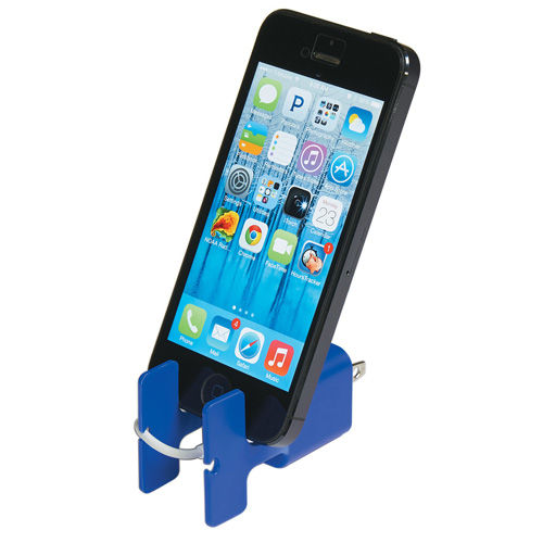 Phone Stand With Cord Wrapper Image 1