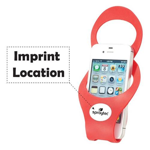 Premium Silicone Smartphone Holder Imprint Image