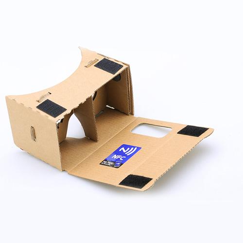 3D Cardboard VR Glasses Image 1