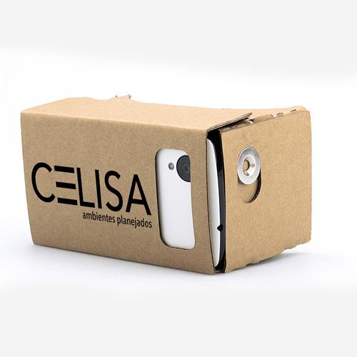 3D Cardboard VR Glasses Image 2