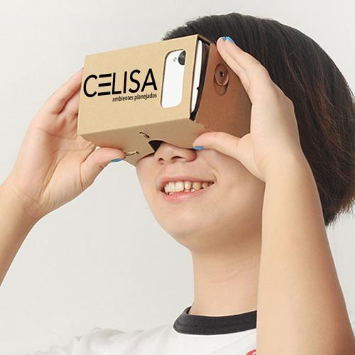3D Cardboard VR Glasses