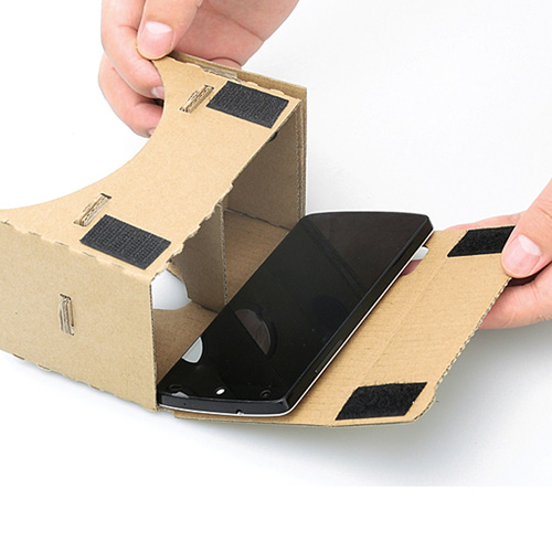 3D Cardboard VR Glasses Image 7