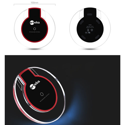 Universal QI Crystal Wireless Charger