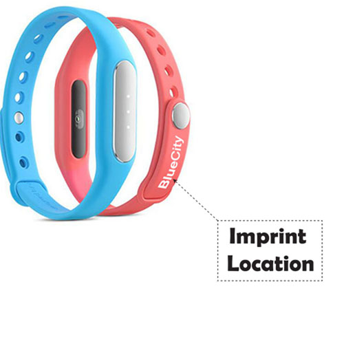 Heart Rate Sensor Smart Wristband Imprint Image