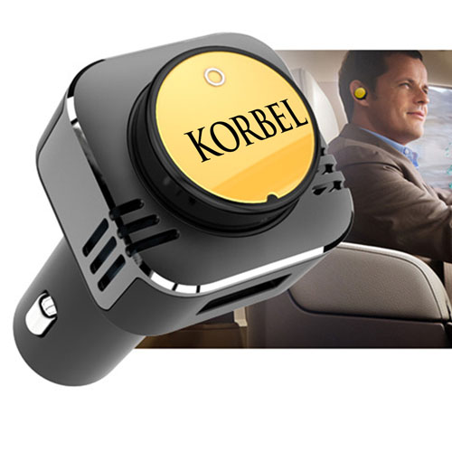 Triple Function Bluetooth Car Charger