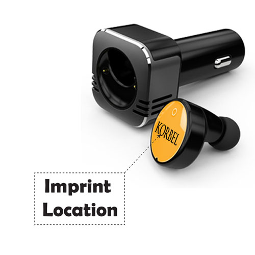 Triple Function Bluetooth Car Charger Imprint Image