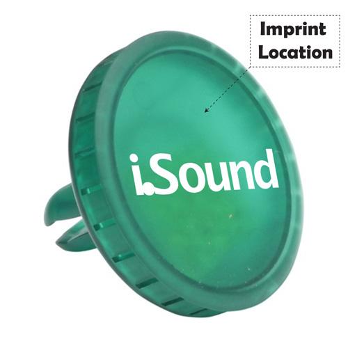 Round Car Vent Air Freshener Imprint Image
