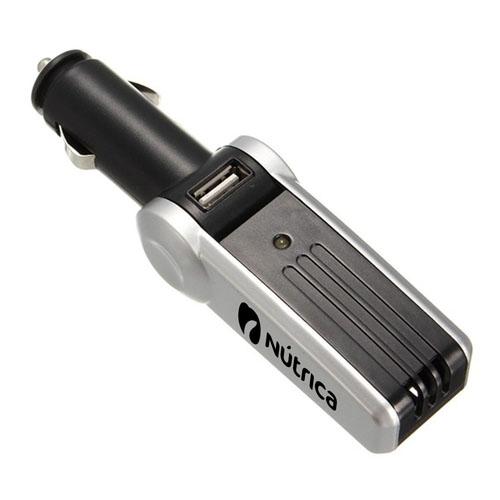 Auto Car Ozone Air Purifier USB Charger