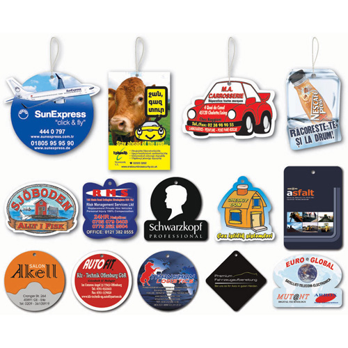 Custom Vehicles Car Air Freshener Image 2