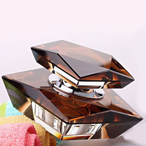 Square Crystal Car Perfume Seat